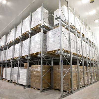 Logistic Warehouse Refrigeration Systems
