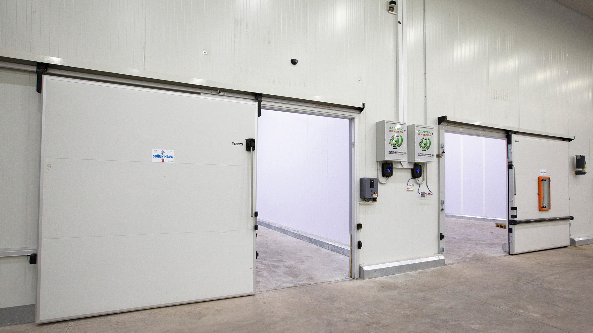 Cold Storage Control Systems