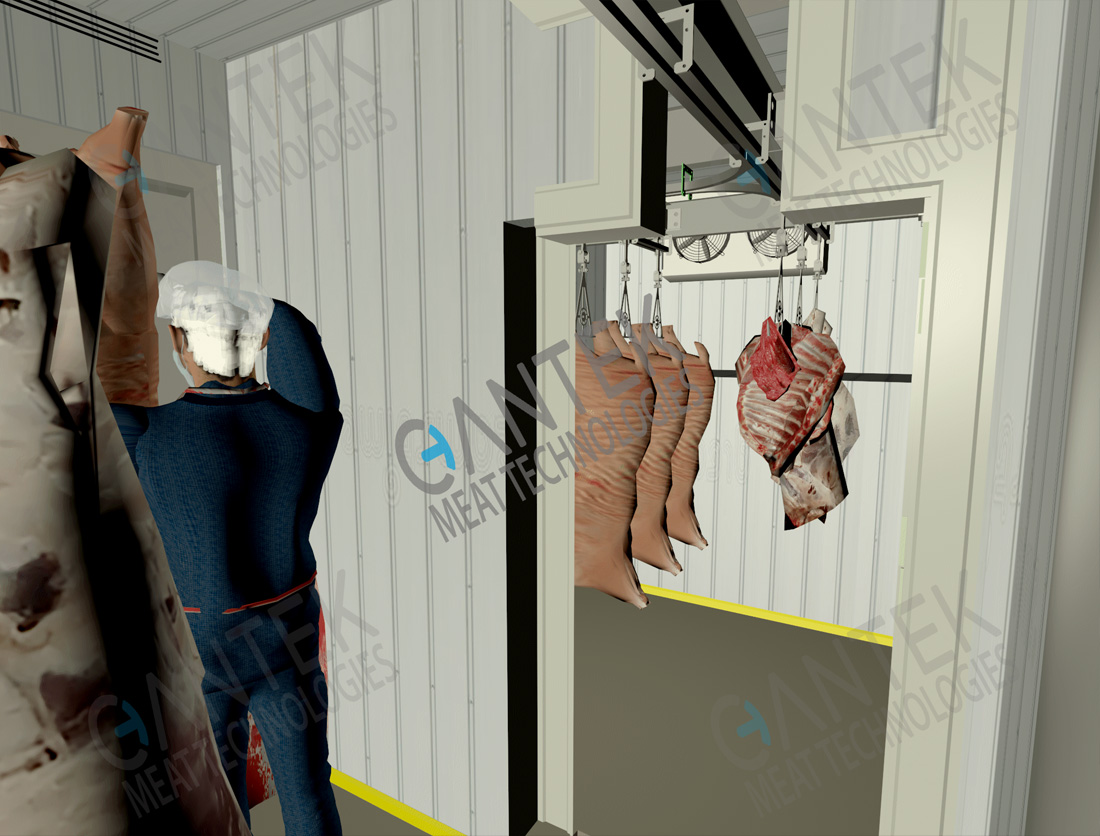 Mobile Container Slaughterhouse