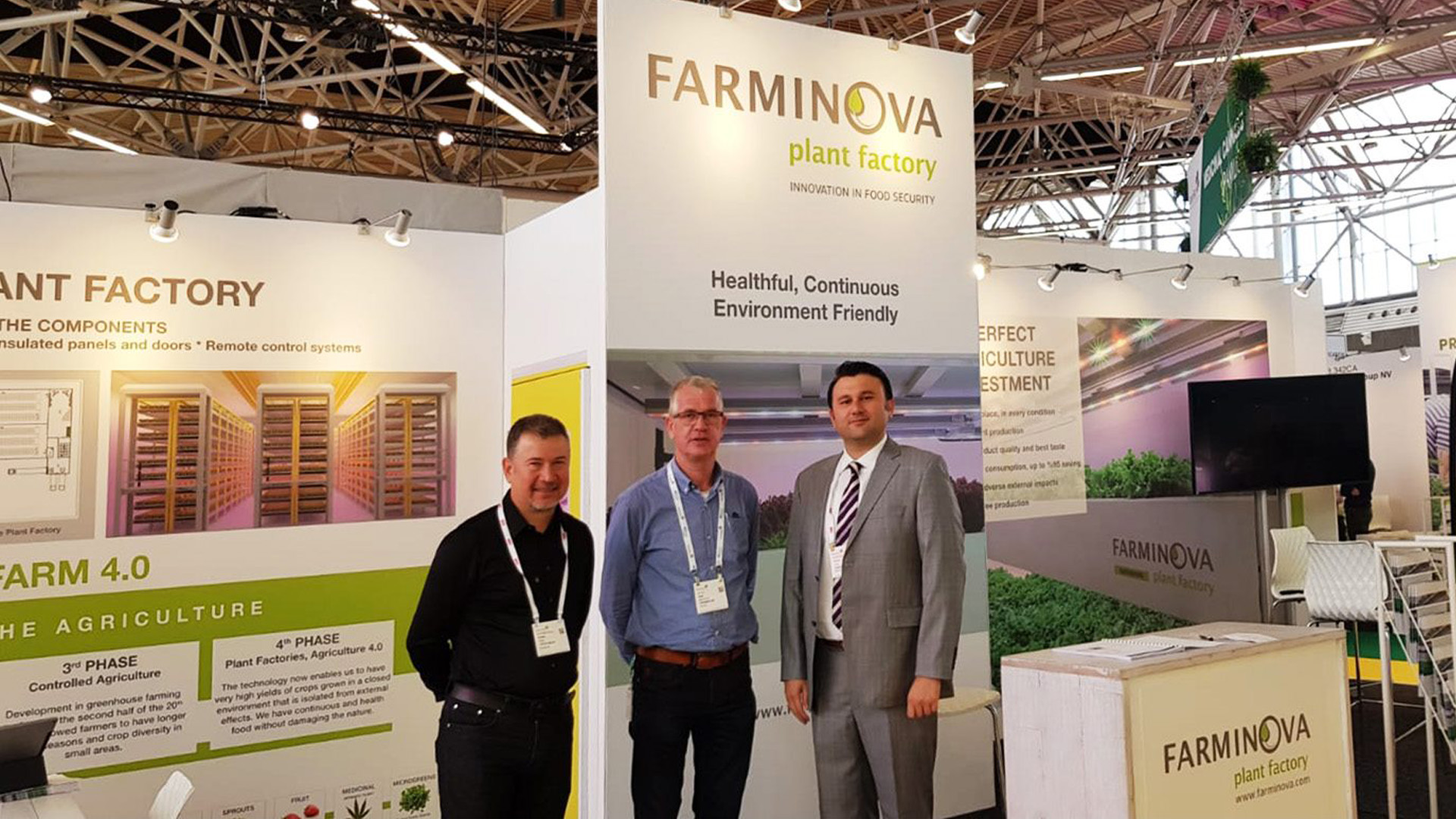 We introduced Farminova Plant Factories to the World